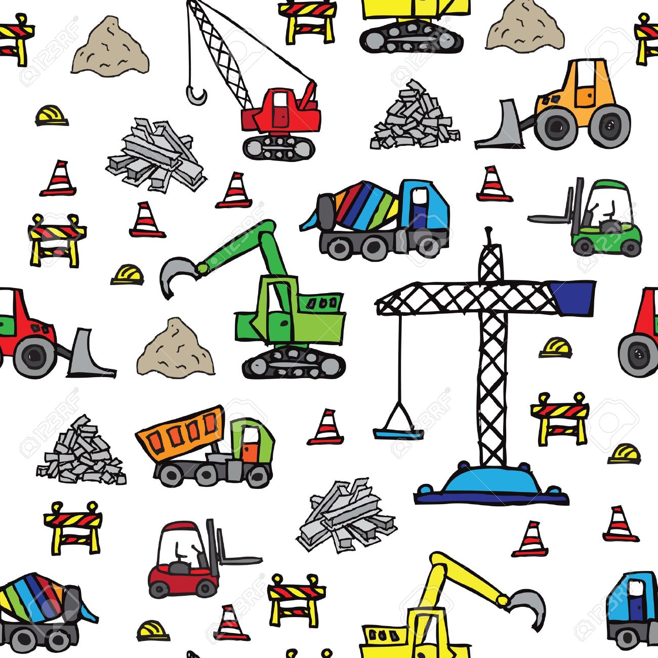 1300x1300 Construction Equipment Clip Art Best Ways To Unclog A Toilet Diagram