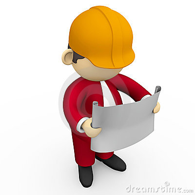 400x400 Site Engineer Clipart