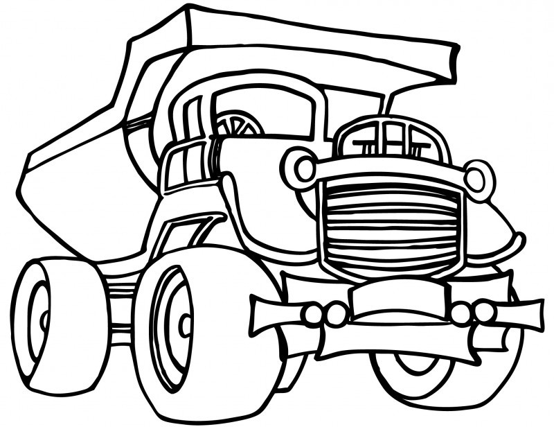 800x616 Construction Coloring Pages