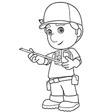 230x230 Top 25 Free Printable Handy Manny Coloring Pages Online