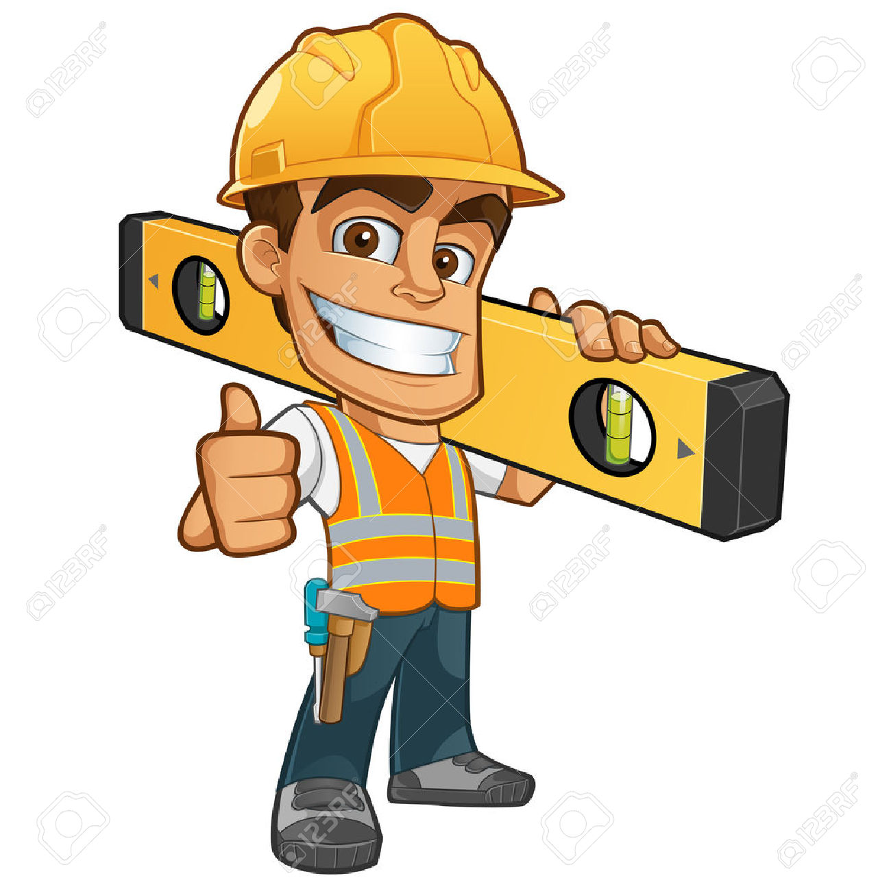 1300x1300 Cone Clipart Construction Worker Tool