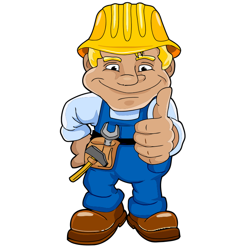 800x800 Construction Worker Clipart No Background Clipartfest
