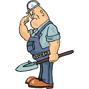 300x300 Cartoon Construction Worker Clipart