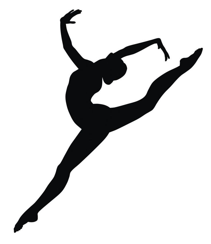 Contemporary Dancer Silhouette