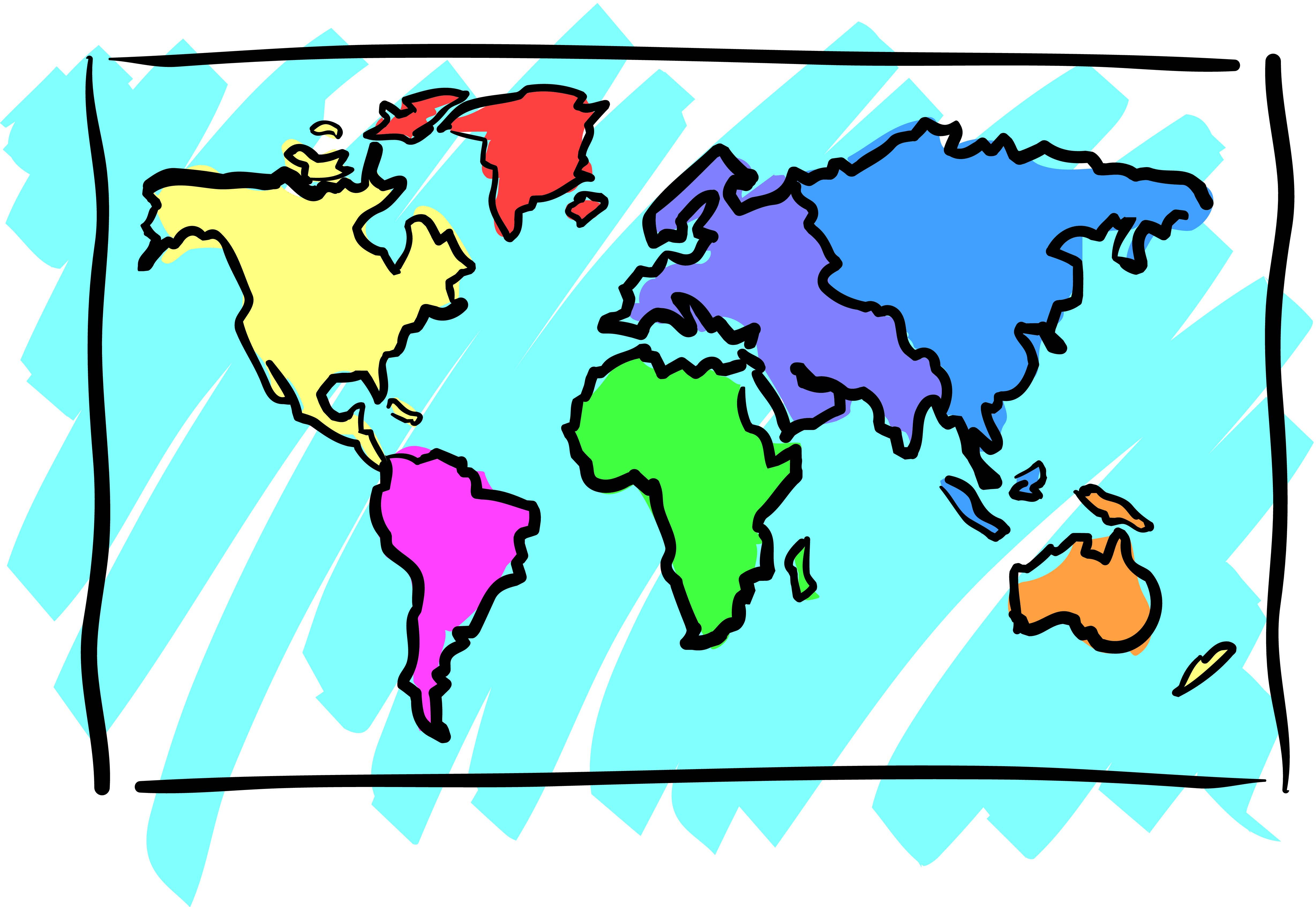Continents clipart free download best continents clipart on 4913x3387 continent clipart world atlas gumiabroncs Gallery