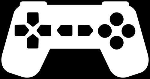500x265 Game Controller Silhouette Public Domain Vectors