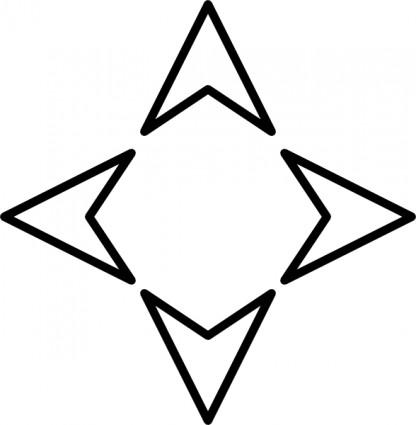 416x425 Plain Arrows Controller Clip Art Vector Clip Art Free Vector Free