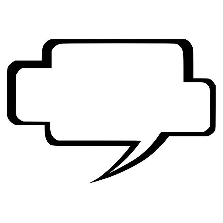 Conversation Bubble Clipart