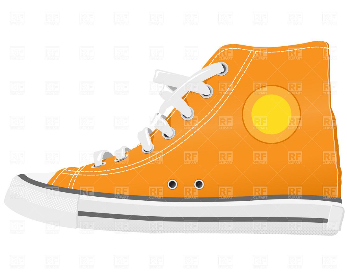e0b83f1f1283 1200x960 Sport Shoes Royalty Free Vector Clip Art Image