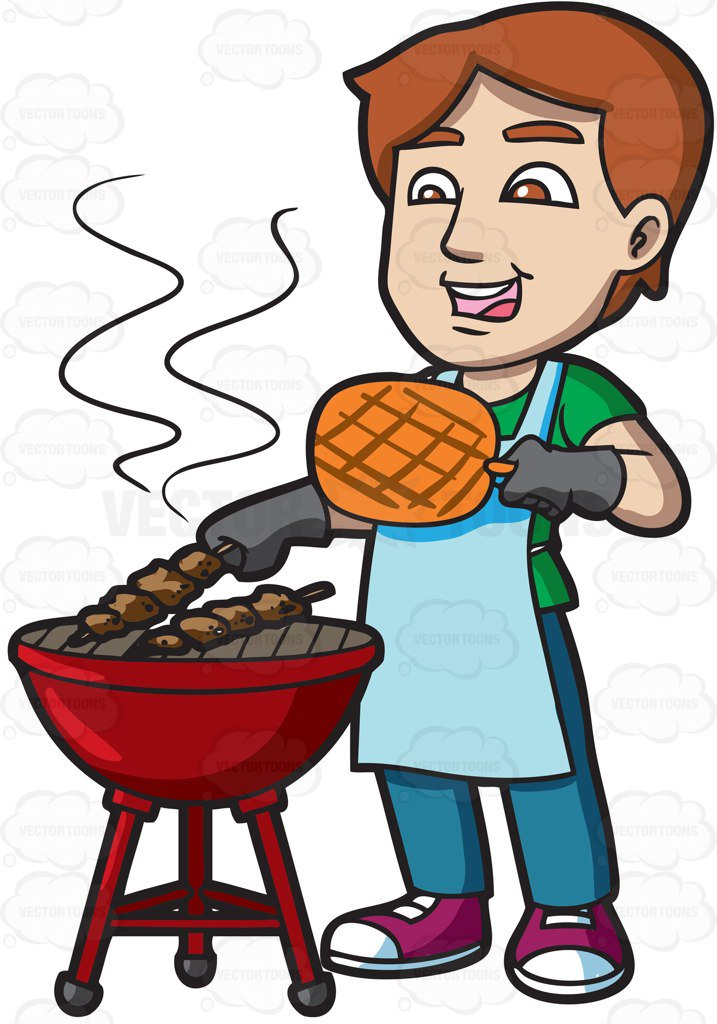Cook Out Clipart