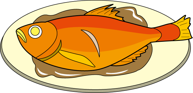 633x305 Chicken Clipart Cooked Fish