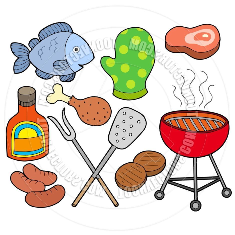 940x940 Cooked Salmon Clipart Barbecue Chicken Clip Art