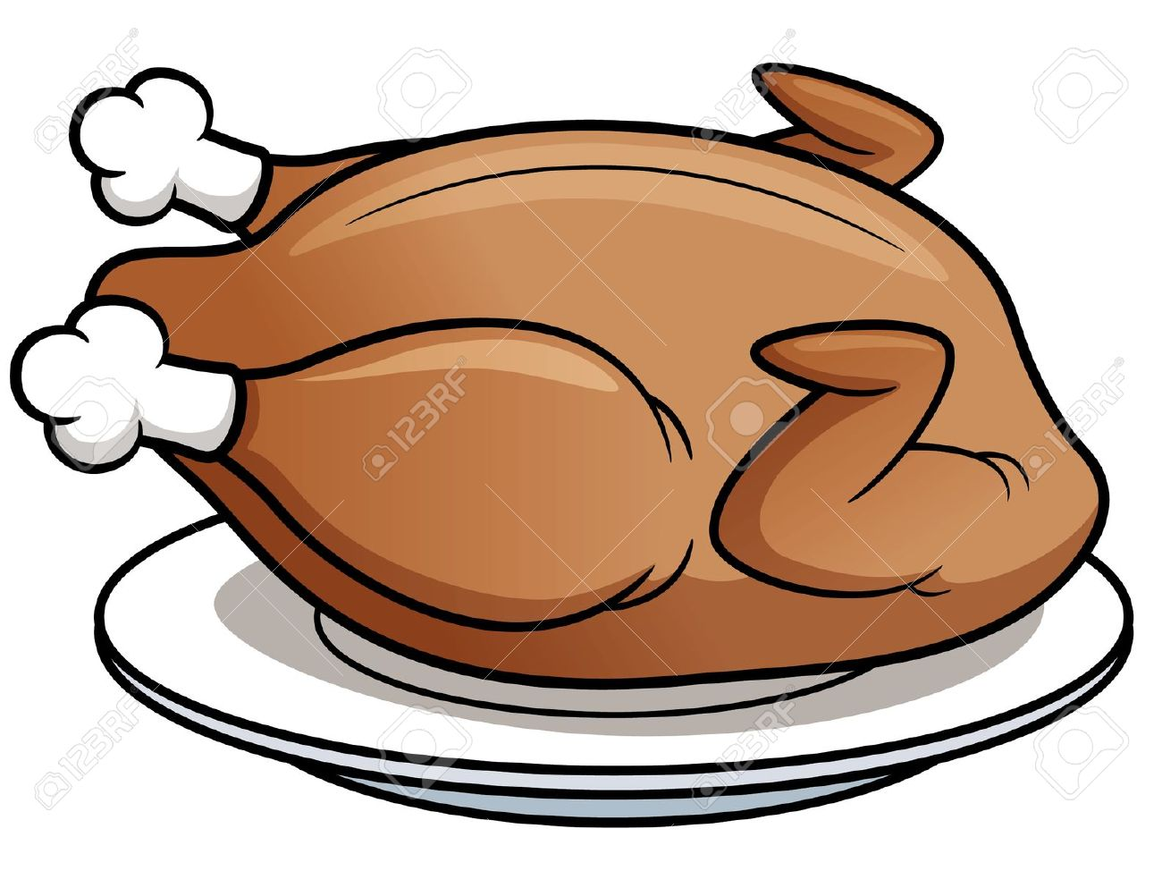1300x974 Meat Clipart Roasted Chicken