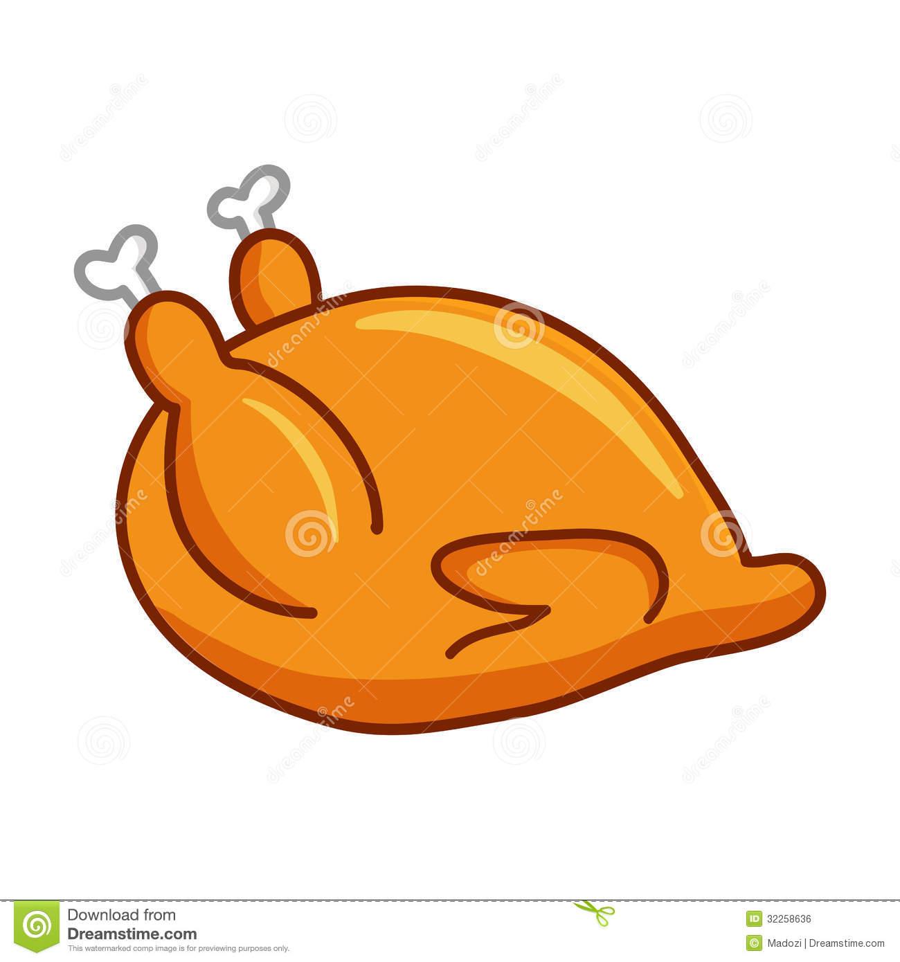 1300x1390 Roast Clipart Baked Chicken