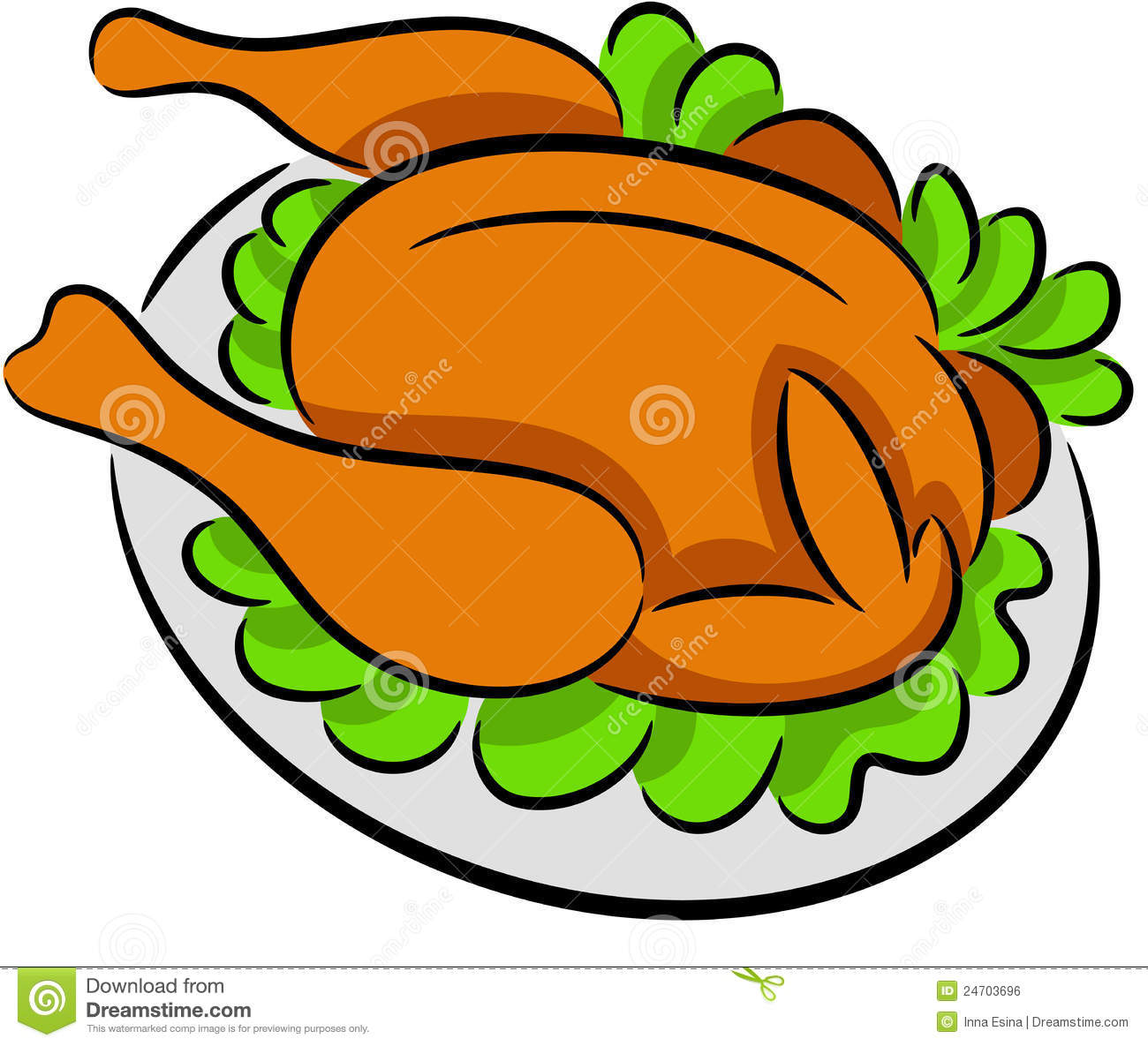 1300x1185 Roasted Chicken Clipart Clipart Panda