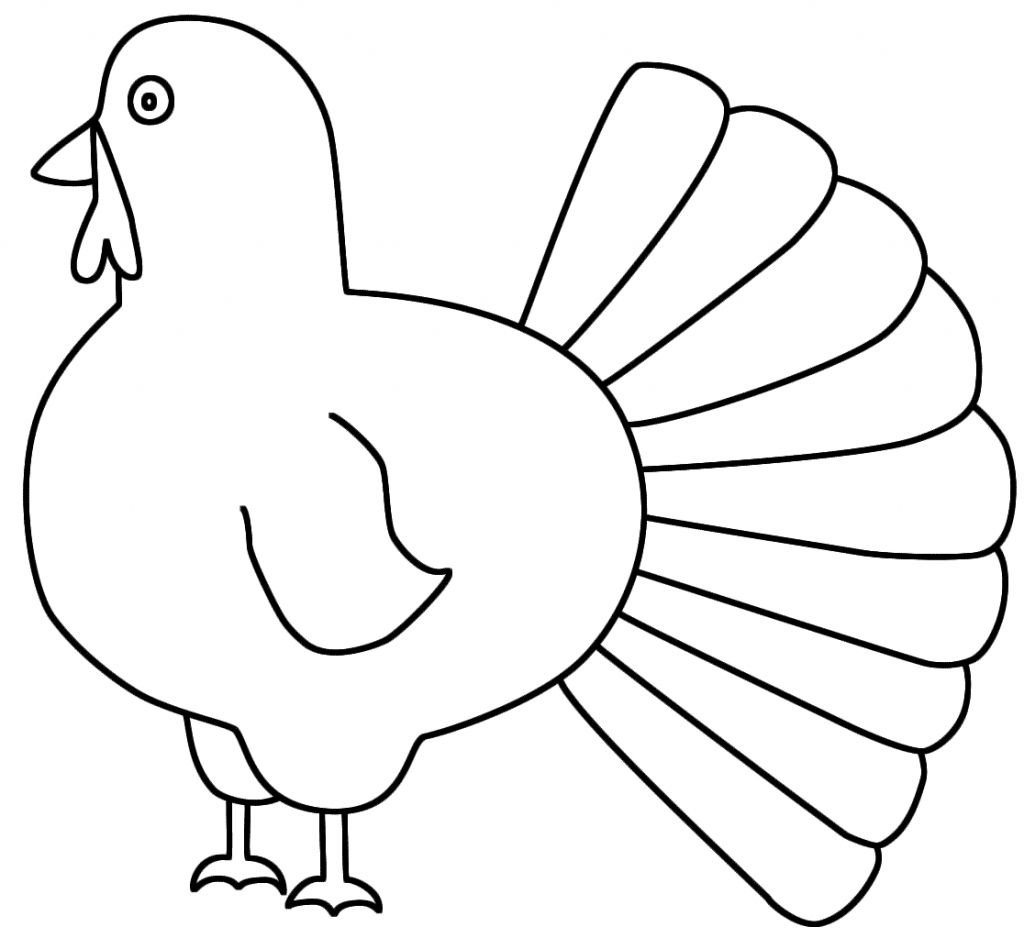 Cooked Turkey Drawing | Free download on ClipArtMag