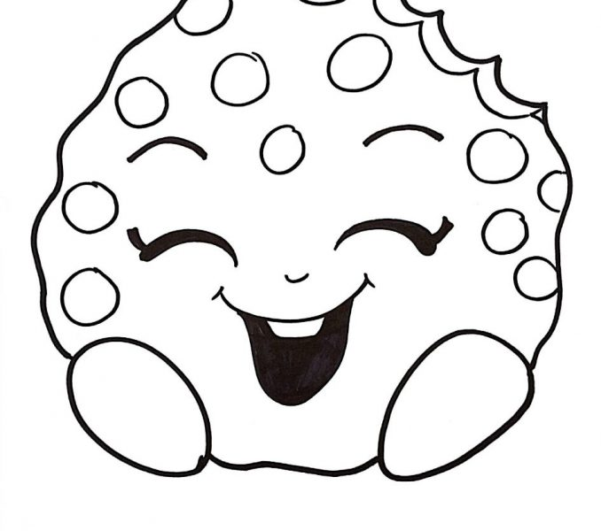 Cookie Coloring Pages   Free download on ClipArtMag