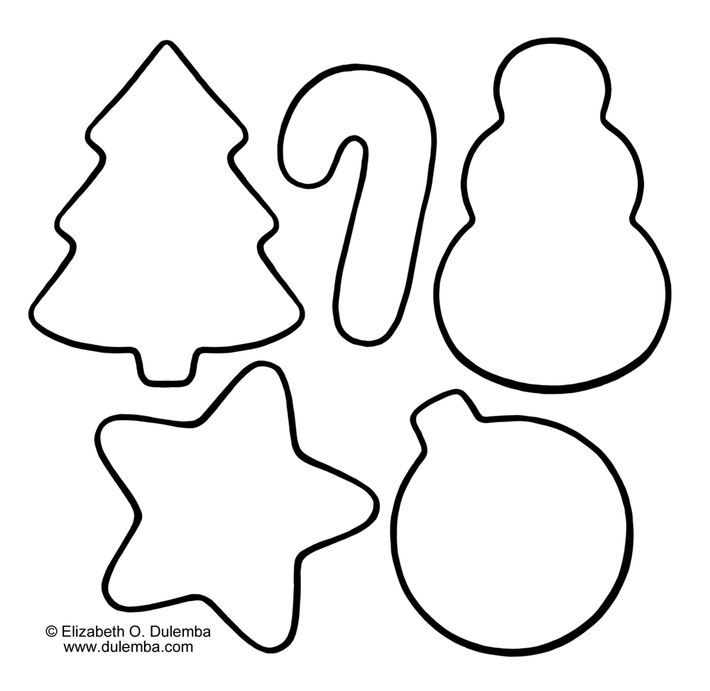 1000x974 printable christmas cookie coloring pages