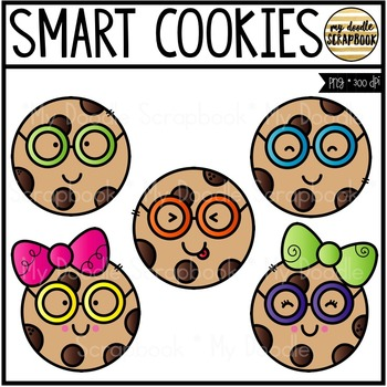 350x350 Smart Cookies (Clip Art For Personal Amp Commercial Use) Smart