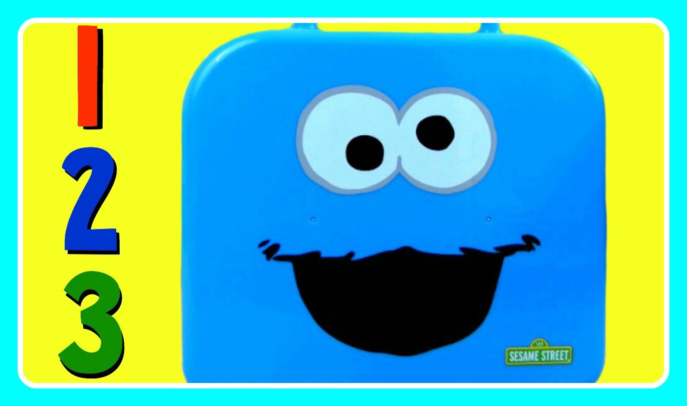 1372x812 Learn Numbers 123 With Cookie Monster! Sesame Street Cookie