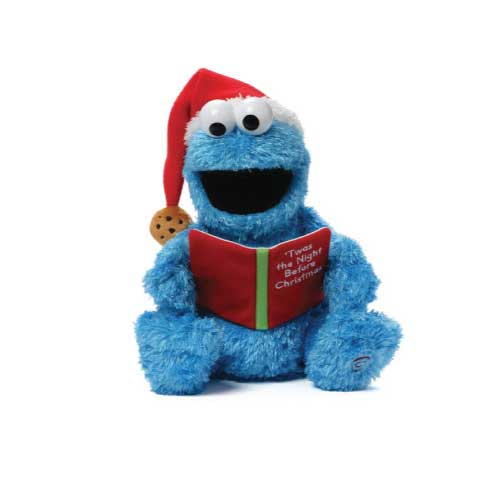 500x500 New Talking Cookie Monster Sesame Street Plush Toys Sesame Street