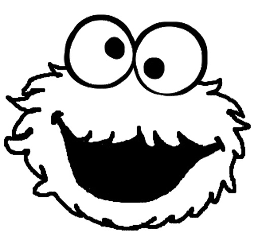 Cookie monster printables free download best cookie for Cookie monster coloring pages printable