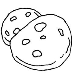 236x243 Cookies In The Basket Coloring Page Cookie