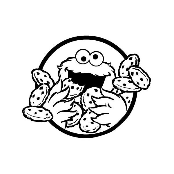 600x600 Cookie Monster Pictures Cookie Monster Coloring Pages Find