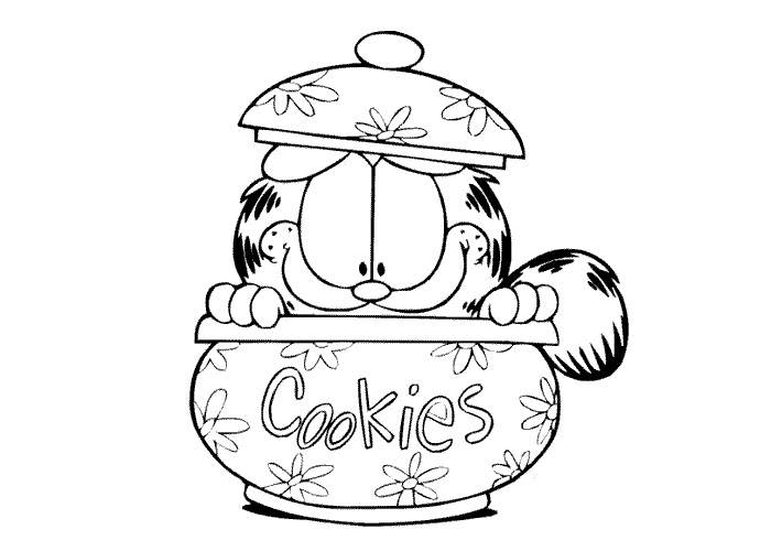 Cookies Coloring Pages | Free download on ClipArtMag