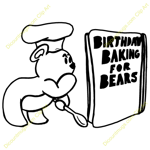 500x500 Baking Clipart Cookbook Covers