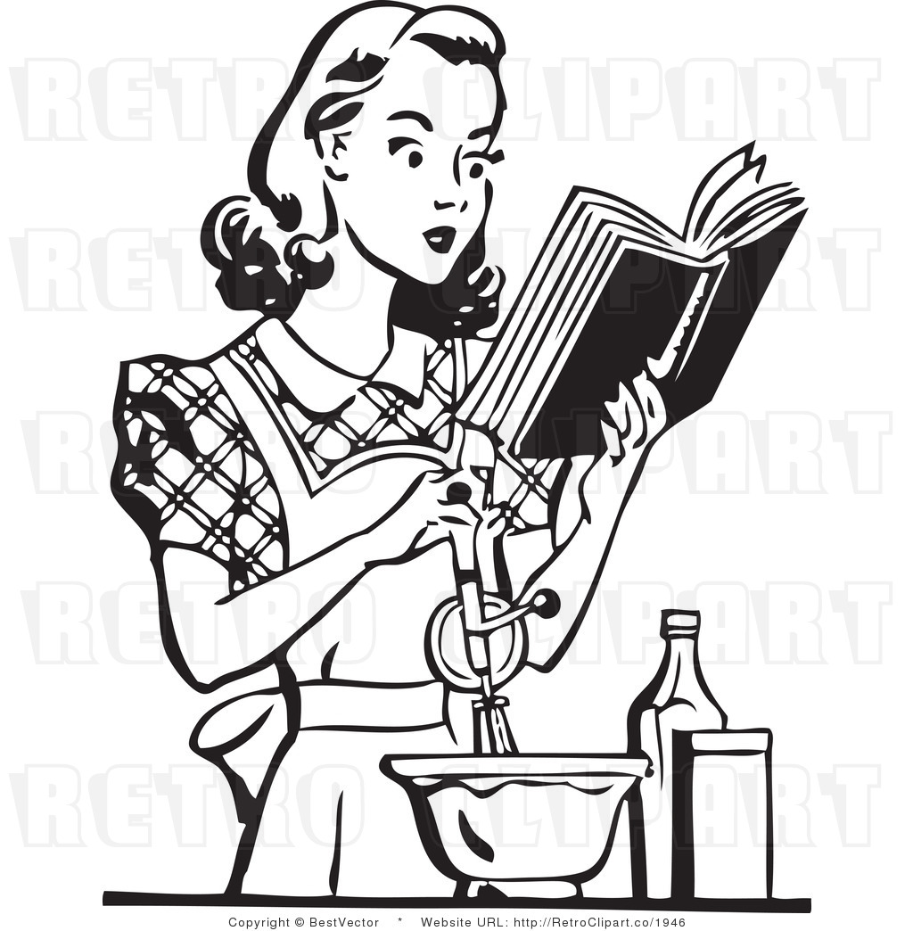 1024x1044 Free Vintage Cooking Clipart
