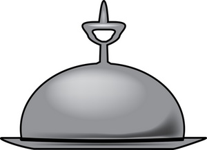 300x218 Room Service Clipart Image