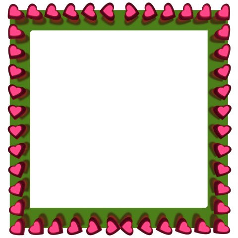 480x480 Plain Frame Cliparts