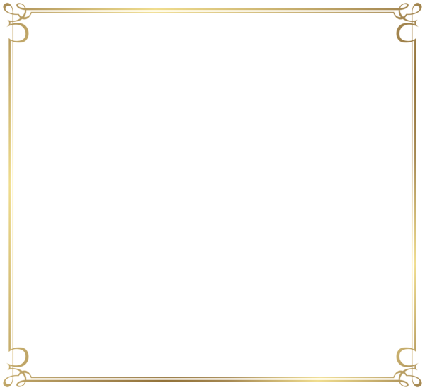 600x551 Decorative Frame Border Png Image Planner, Journal And Stickers