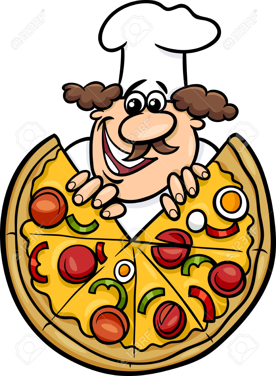 956x1300 Pizza Clipart, Suggestions For Pizza Clipart, Download Pizza Clipart