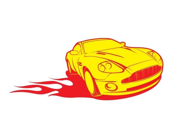 600x450 Cool Car Vector Free Vector In Adobe Illustrator Ai ( Ai ) Vector