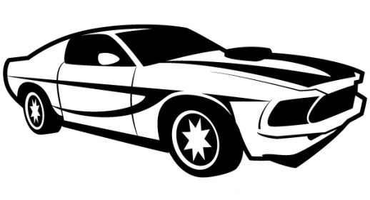 518x280 Cool Car Clipart