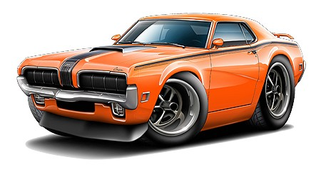 450x242 Cool Clipart Muscle Car