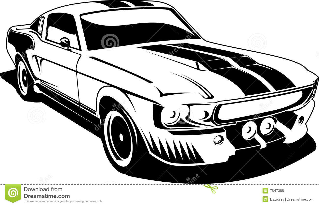 1300x838 Cool Clipart Mustang Car