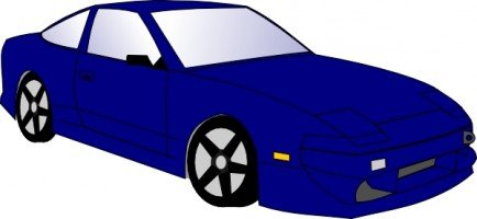 434x200 Coolest Free Auto Clip Art Cartoon Car Clip Art Free Vector