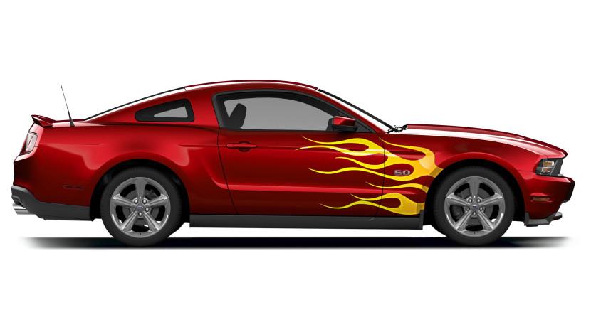 830x467 Mustang Car Clipart