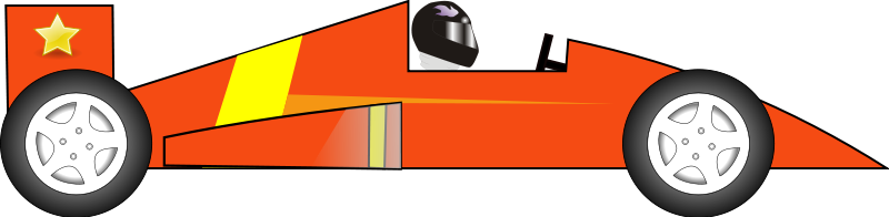 800x196 Race Car Images Clip Art
