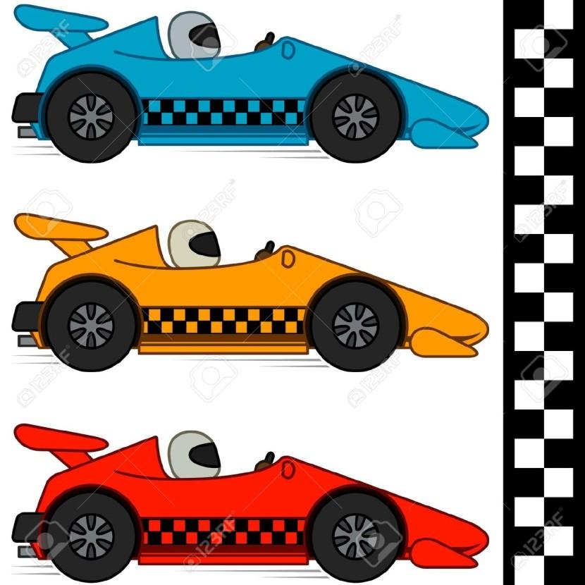 830x830 Race Car Clipart Cool Car