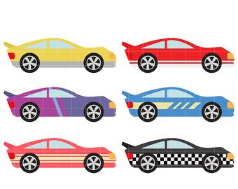 340x270 Racing Cars Clip Art Etsy