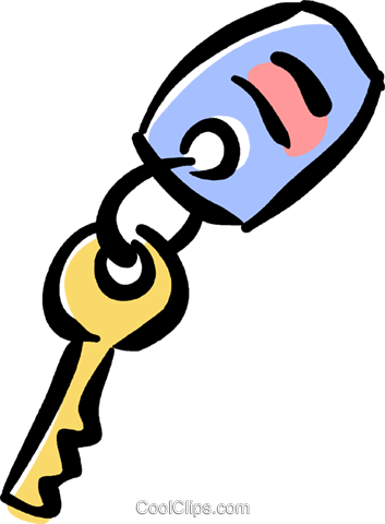 353x480 Car Keys Royalty Free Vector Clip Art Illustration Vc040063