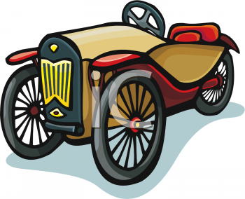 350x284 Clipart Old Cars