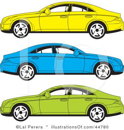 400x420 Blue Car Clipart Cool Car