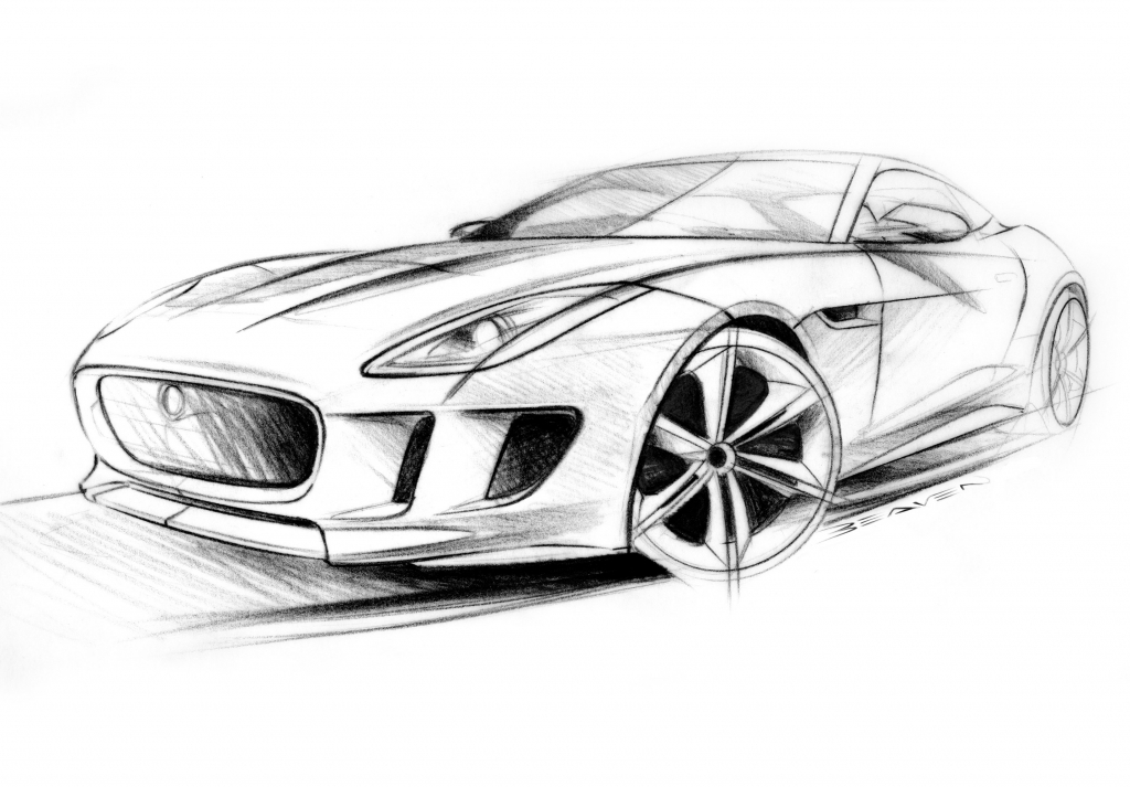 1024x713 Pencil Sketches Of Cars Drawing Of Cars Free Download Clip Art