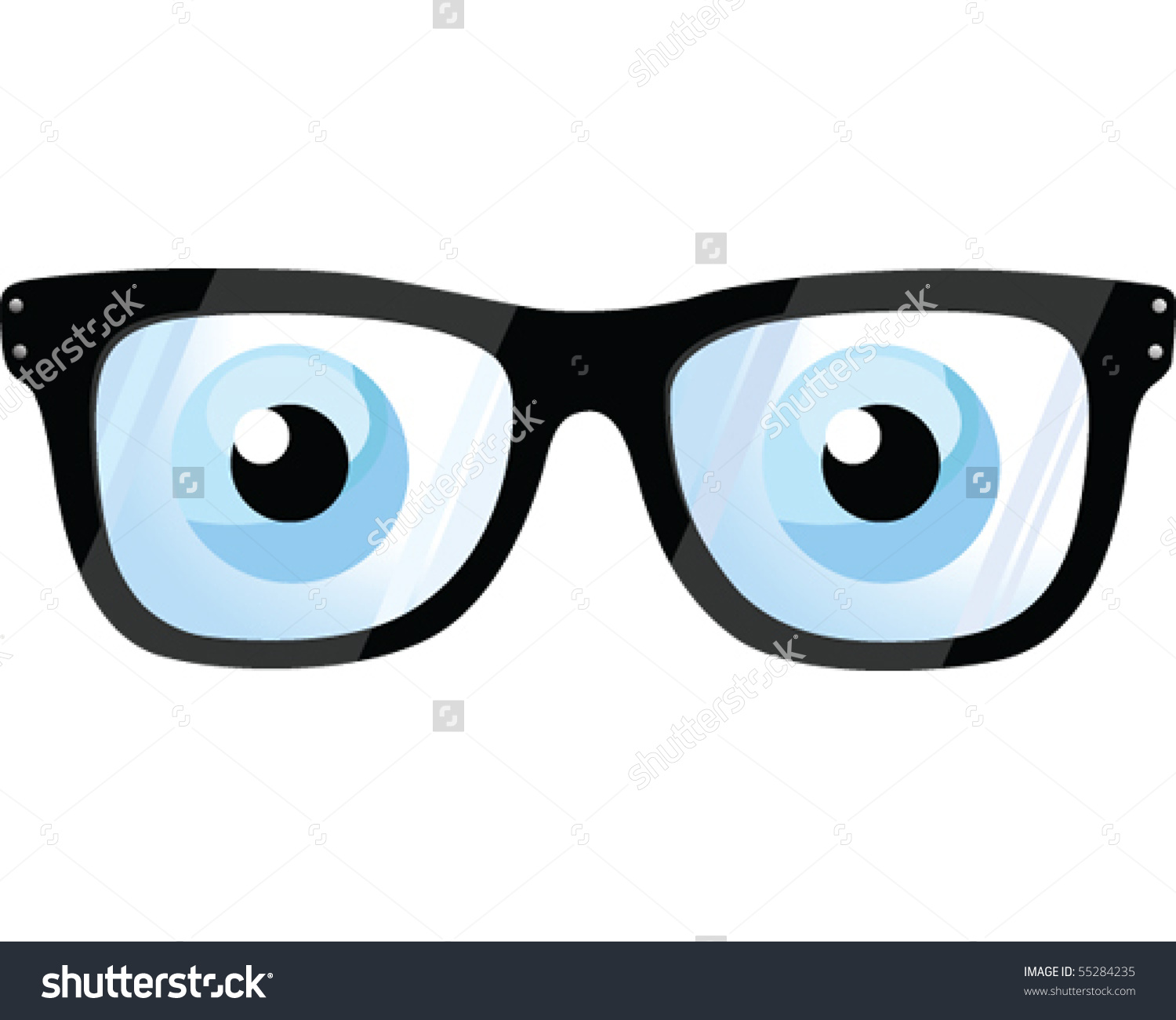 1500x1300 Glasses And Eyes Clipart