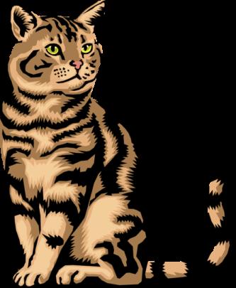 333x405 Cat Clipart Clipartpen